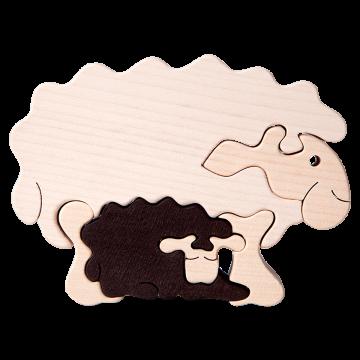 Zvieracia rodina - Ovečka - kvalitné drevené hračky