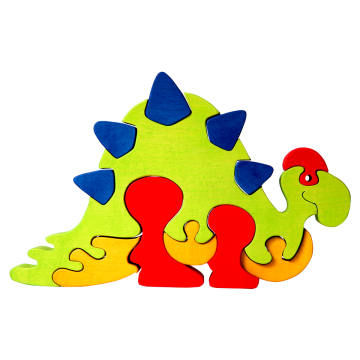 Veľké Zvieratko - Stegosaurus - originálne skladacie puzzle zviera