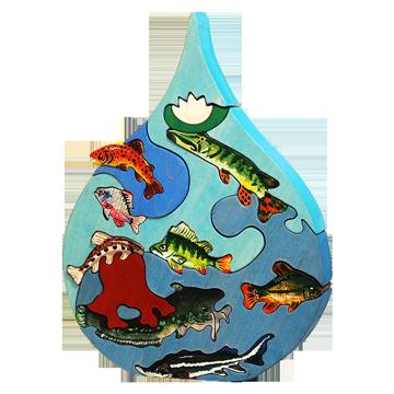 Kvapka - Dunaj - Edukačné puzzle 3D