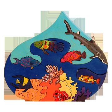 Puzzle Kvapka - Červené more
