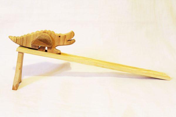 Krokodíl s plošinkou
