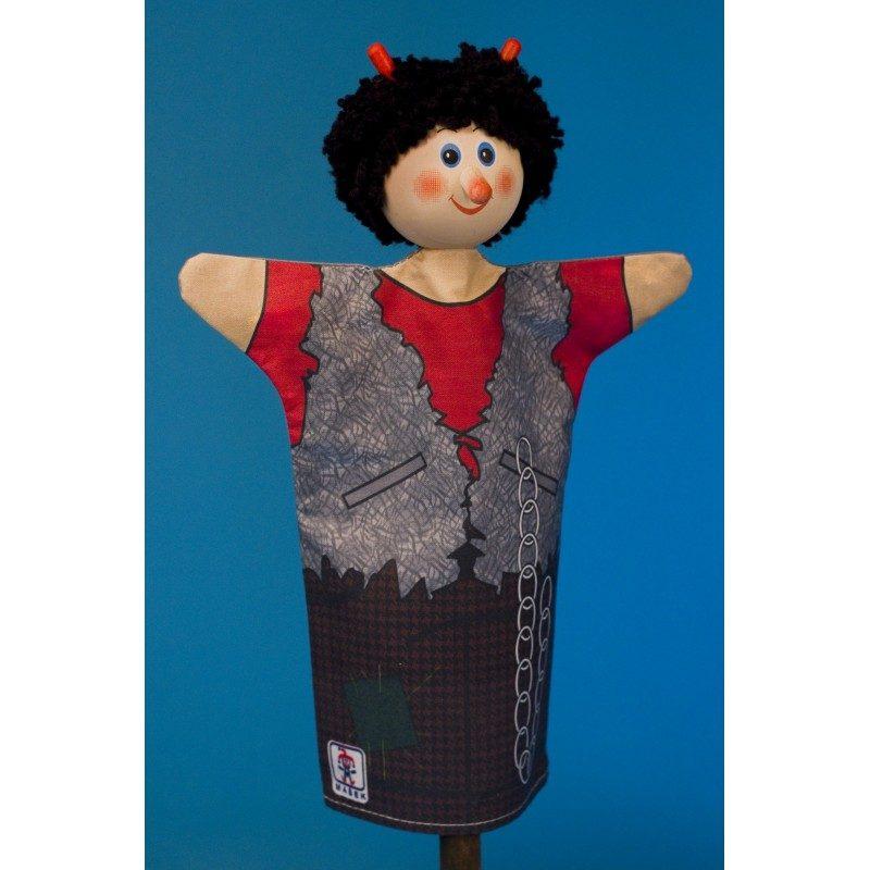 Textilná bábka Čert