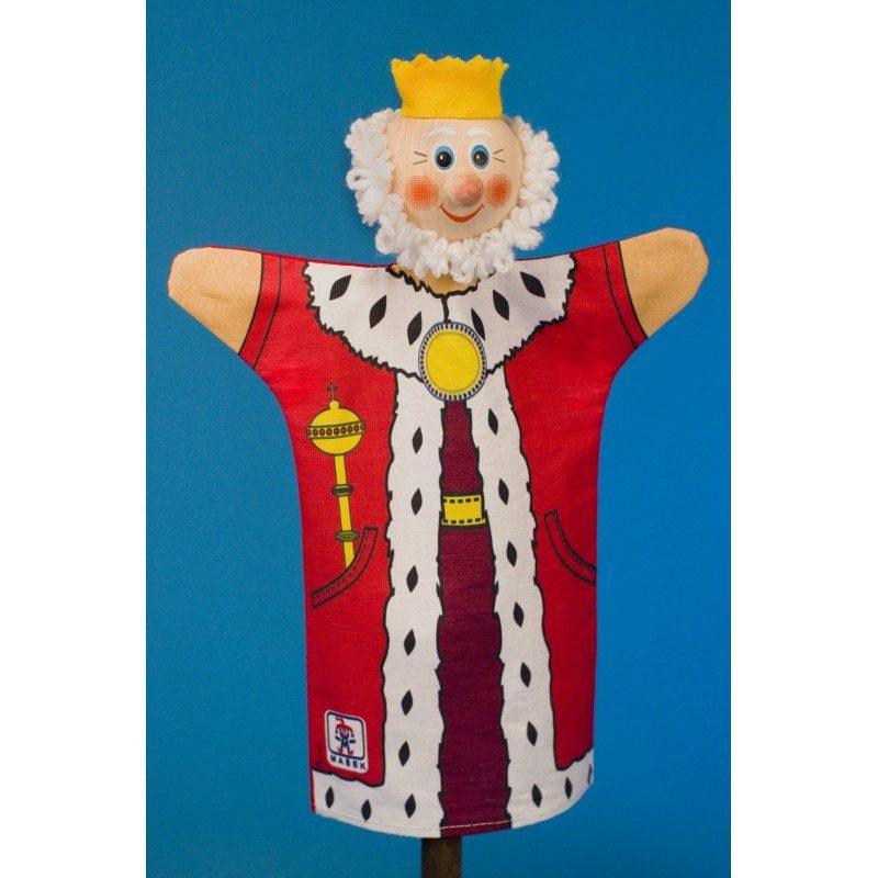 Kráľ - bavlnená bábka