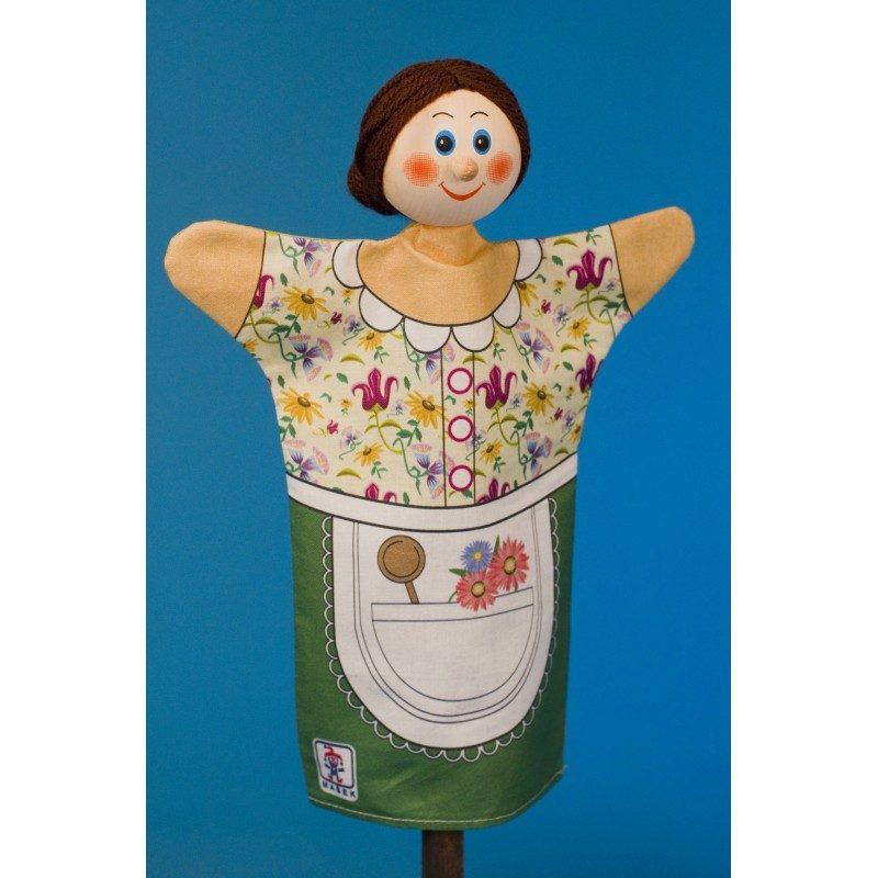 Gazdiná - Textilná detská maňuška