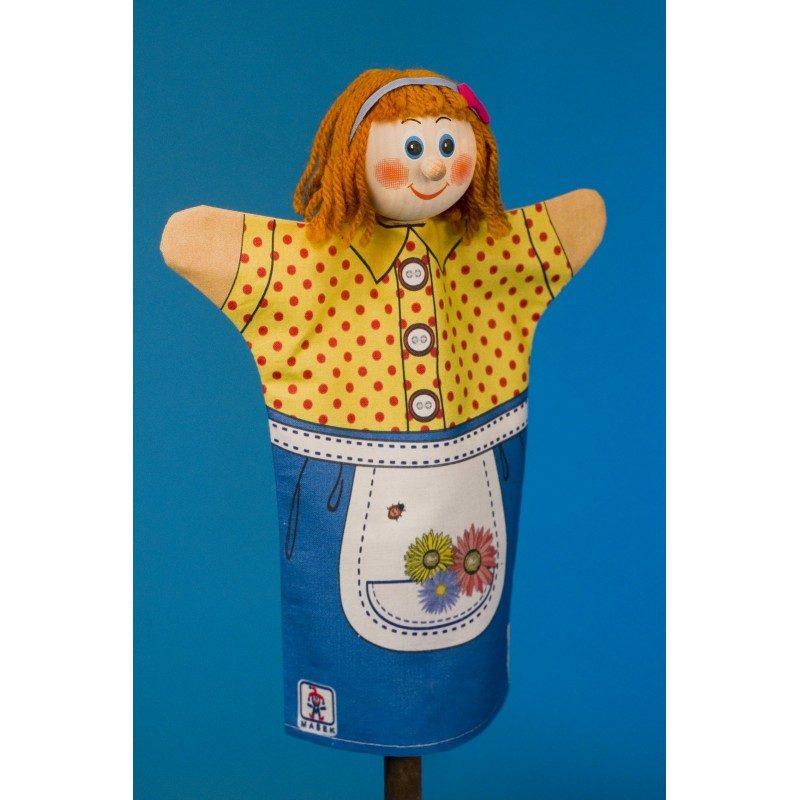 Marienka - maňuška z bavlny