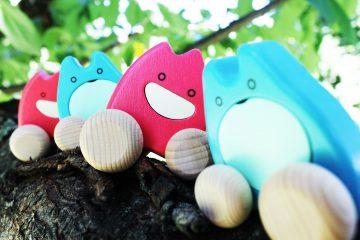 Hračky na kolieskach - Rosa & Iskrička
