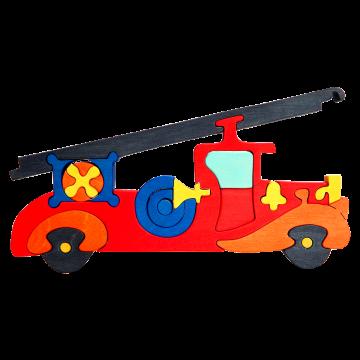 Doprava - Požiarne auto - originálne skladacie auto